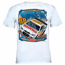 Dale Earnhardt Jr. Chase Authentics Straightaway T-Shirt - White - NASCAR