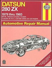 Datsun 280ZX Repair Manual 1979-1983