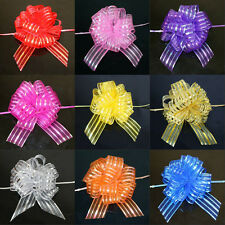 New 20pcs Pull Flower Bows Wedding Car Party Christmas Decoration Gift Ribbons