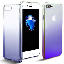 Glossy Clear Crystal Plating Hard Full Cover Slim for iPhone 6s 7 Plus Case Skin