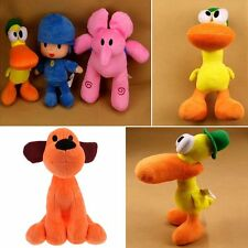 Pocoyo Elly Pato Loula Plush Character Figures Stuffed Toys Doll Kids Gift
