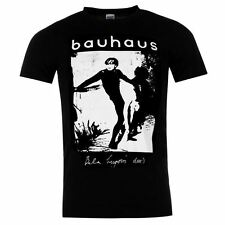 Official Mens Merch Bauhaus T Shirt Cotton Casual Short Sleeve Crew Neck Tee
