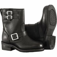 River Road Twin Buckle Women's Engineer Boot Motorcycle Boots