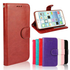 Luxury Leather Magnetic Flip Card Holder Wallet Skin Cover Case For Apple iPhone