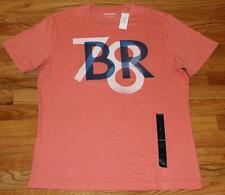 NEW NWT Mens Banana Republic Graphic Logo Tee T-Shirt 1978 BR 78 Orange $26 *1U