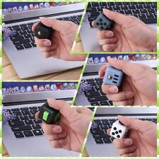 DICE FIDGET CUBE DESK TOY STRESS ANXIETY RELIEF CHRISTMAS STOCKING ADULT KIDS X#