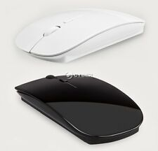 Slim Bluetooth Wireless Optical Mouse 1600 Dpi for Windows 7/8 Android Macbook D