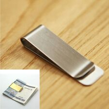 2 Colors Silver Metal Clamp Cash Clamp Money Clip Wallet Credit Card ID Clips