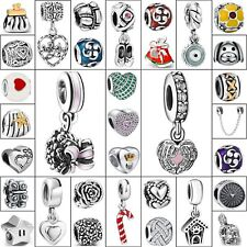 Handmade Woman European Bead Charms For New 925 Silver Sterling Bracelets Chain