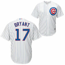 Kris Bryant Chicago Cubs Youth Official Cool Base Player Jersey - White - MLB