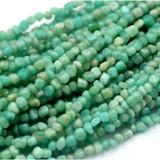 Genuine Natural Green Blue Russia Amazonite Small Nugget Free Form Loose Beads