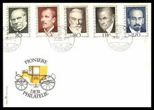 Liechtenstein Pioneers Of Philately 1969 Set On Cacheted Fc