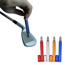 Golf Wedge Iron Groove Sharpener Club Cleaner Cleaning Tool Square LAN