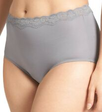SZ 10 OLGA WITHOUT A STITCH MICROFIBER BRIEF PANTIES ASSORTED COLORS 23367 NWT!