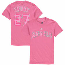 Mike Trout Majestic Los Angeles Angels of Anaheim T-Shirt - MLB