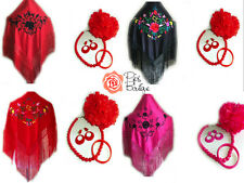 Girls Spanish Flamenco Dance Shawl Earrings Hair Flower Bracelet & Necklace Set