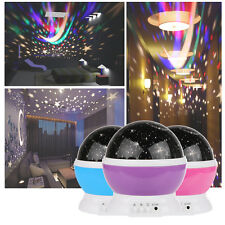 LED Rotating Star Sky Projector Night Lamp Laser Starry Sky Night Light Projecto