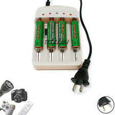 4 AA 2800mWh 1.6V Rechargeable Battery Utra+18650 AAA NiMH NiCd Charger Z4 EU