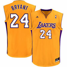Kobe Bryant Los Angeles Lakers adidas Youth Replica Home Jersey - Gold - NBA