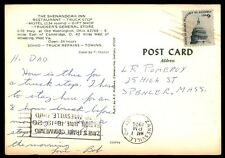 ZANESVILLE OH MAY 7 1976 COMMEMORATION SLOGAN CANCEL ON POSTCARD TO SPENCER MA