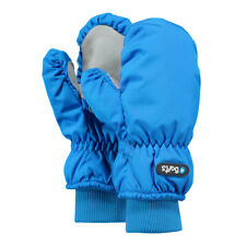 Barts Nylon Mitts Warm Gloves Children Mittens Touch Fastener Fleece Inside Blue