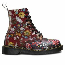 Dr.Martens Floral Pascal 8 Eyelet Multi Womens Boots