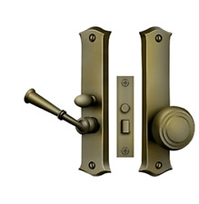 Storm Door Replacement Classic Latch- Mortise Lock Solid Brass 9 finishes by FPL
