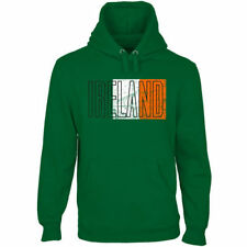 Ireland Flag Pullover Hoodie - Green - Country Flags