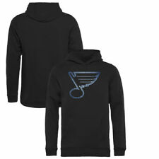 St. Louis Blues Youth Pond Hockey Pullover Hoodie - Black - NHL