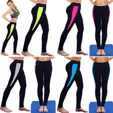Fashion Womens Soft Sports YOGA Workout Gym Fitness Leggings Pants Athletic S418