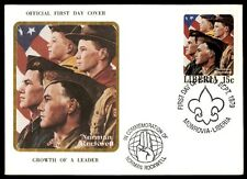 Monrovia Liberia Norman Rockwell first-day cover with cachet September 1979