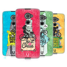 HEAD CASE DESIGNS BICYCLE LOVE HARD BACK CASE FOR BLACKBERRY DTEK60