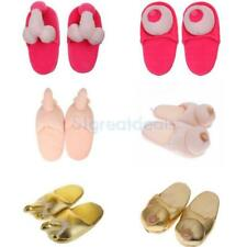 Chic Willy Pennis Dicky Boob Slippers Shoes Adult Gift Hen Party Funny Gift