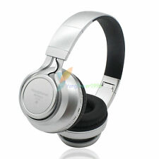 Sliver YP76 FM Bluetooth Headphone Stereo Headset Earphone For Call Phone Apple