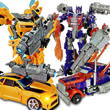Car Action Figures Transformers 4 Grimlock Bumblebee Optimus Prime Toy Gifts New