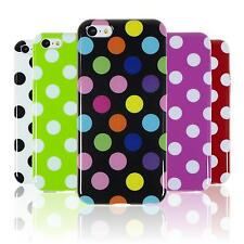 Silicone Case for Apple iPhone 5c Polkadot  + protective foils