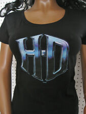 nwt HARLEY DAVIDSON Scoop Neck H-D Graphic  Tee Shirt Top