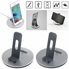 Desktop Charger Sync Charging Dock Station Cradle & Stand for iPhone & Android