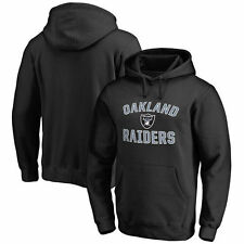 Oakland Raiders NFL Pro Line Big & Tall Victory Arch Pullover Hoodie - Black