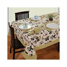 Rectangular Tablecloth Tableware Indian Table Cover New Floral Printed Runner