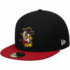 Quad City River Bandits New Era Authentic Road 59FIFTY Fitted Hat - MiLB