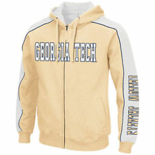 Georgia Tech Yellow Jackets Colosseum Thriller II Full-Zip Hoodie - NCAA