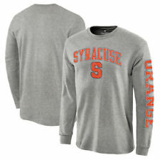 Syracuse Orange Distressed Arch Over Logo Long Sleeve Hit T-Shirt - NCAA