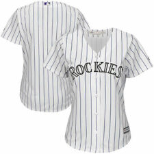 Colorado Rockies Majestic Women's Home Cool Base Team Jersey - MLB