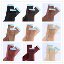 """One set of 20"""" Remy Tape Skin Hair Extensions, 40pcs & 100g, 15 colors available"""