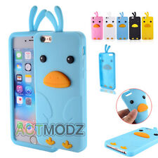 Cool Little Chicken Shape Soft Silicone Case Cover Skin For Apple 5S/6S/6S Plus