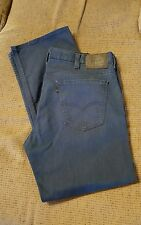 Men's Levi's 569 Relaxed Dark Blue 38W 32L Black Label