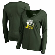 Oregon Ducks Fanatics Branded Women's Gradient Logo Long Sleeve T-Shirt - NCAA