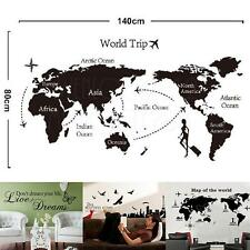 DIY Tower/Map/Dream Removable Vinyl Decal Mural Wall Sticker Art Home Decor
