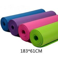 Exercise Mat 10mm Thick Non-Slip Yoga Mat Exercise Fitness Lose Weight Mat Pads